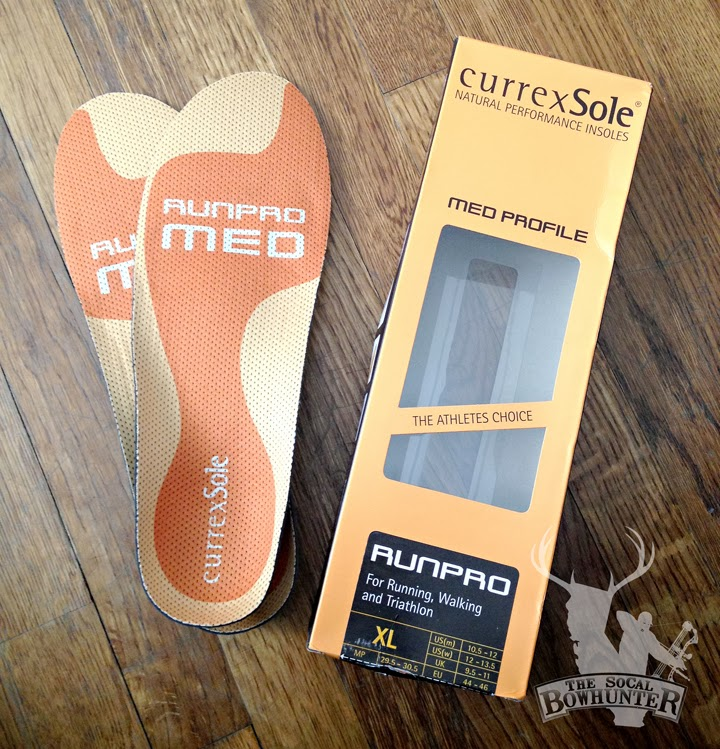 721da9ced7 Product Review: currexSole RunPro Medium insoles - The SoCal Bowhunter